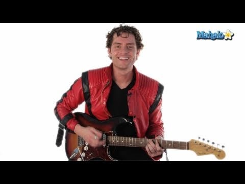 """How to Play """"Baby Be Mine"""" by Michael Jackson on Guitar"""