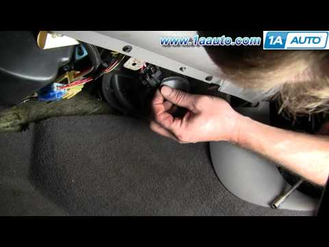 How To Install Replace Noisy Heater AC Blower Motor Ford Taurus Mercury Sable 96-07 1AAuto.com