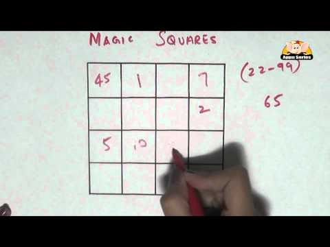 Learn a Trick - Interesting Magic Squares Part - 1