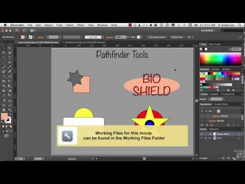 Adobe Illustrator CS6 Tutorial |  The Pathfinder Panel | InfiniteSkills