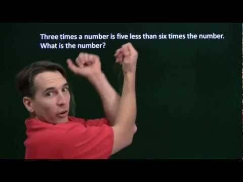 Art of Problem Solving: Word Problems Part 1