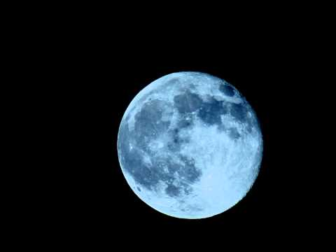 Beautiful Full Moon Rise through 900mm Telescope 4x timelapse V10189