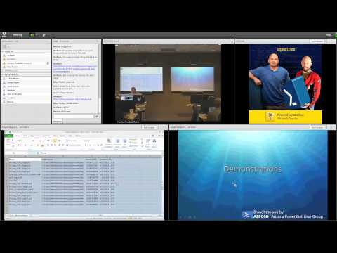 Arizona Windows PowerShell User Group meeting June 1, 2011 at Interface Training part 2
