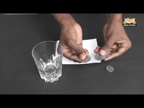Learn a Trick - Coins in Glass
