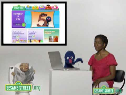 Sesame Street: Grover and Makeda Introduce Sesamestreet.org