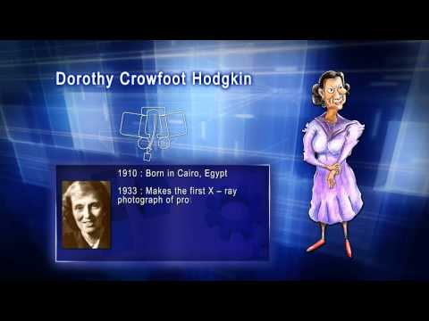 Top 100 Greatest Scientist in History For Kids(Preschool) - DOROTHY CROWFOOT HODGKIN