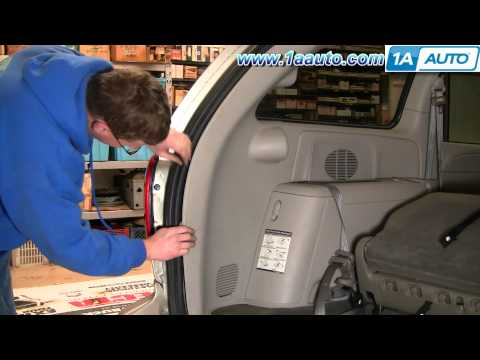 How To Install Replace Rear Power Vent Window Motor Chrysler Dodge Caravan 1AAuto.com