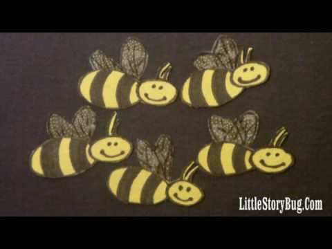 Felt Board Activity - Hey, Bees! - Littlestorybug