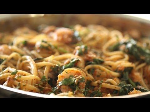 Pasta with Shrimp: What's for Dinner THURSDAY|| Kin Eats