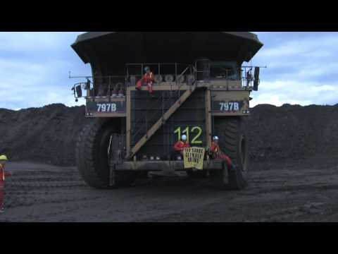 Tar Sands Mine Action - Greenpeace