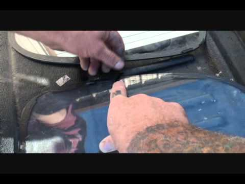 Installing Automotive Glass The Right Way-Streerods and Custom Cars-Part 1