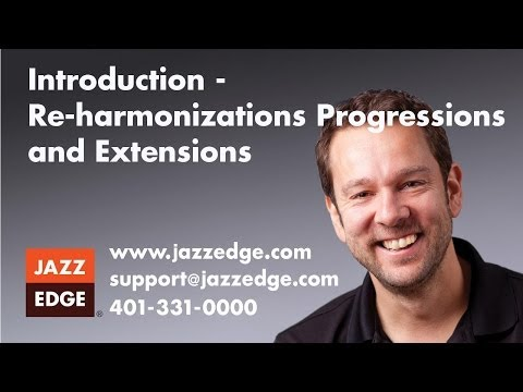 Re-harmonizations, Progressions and Extensions - Introduction