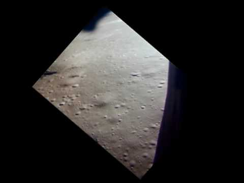 Flying Down to Hadley Rille, Apollo 15 Moon Landing, 1971