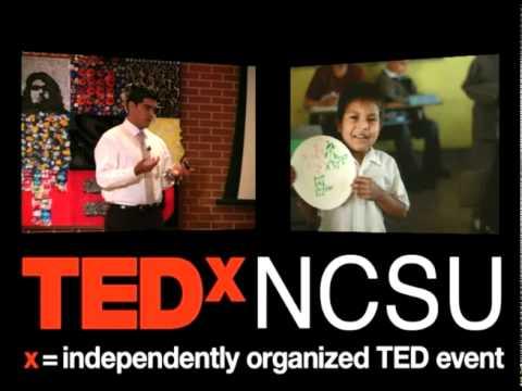 TEDxNCSU - Saul Flores - Walk of the Immigrants