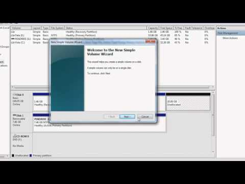 The Basics of Partitioning in Windows 7