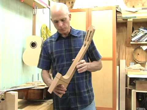 Interview with a Luthier part 2 classical and flamenco guitars made by hand woods neck shop tour