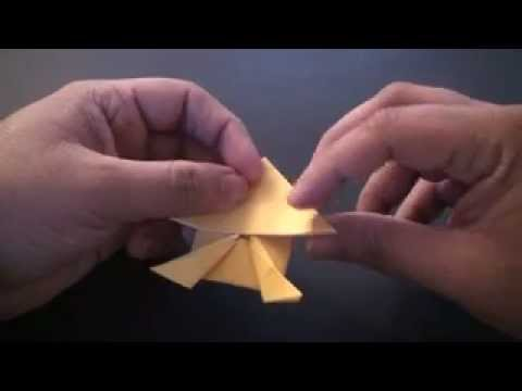 Origami Daily - 098 Classic Jumping Frog (Easy) - TCGames [HD]