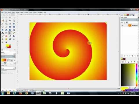 Gimp 2.8 Tools Tutorial - Paint Tools, pt 1