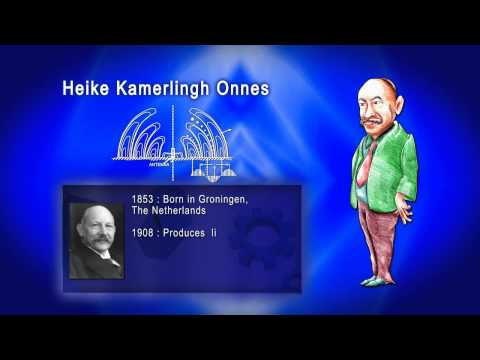 Top 100 Greatest Scientist in History For Kids(Preschool) - HEIKE KAMERLINGH ONNES