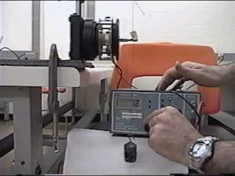 Mechanical resonance experiment with a pendulum