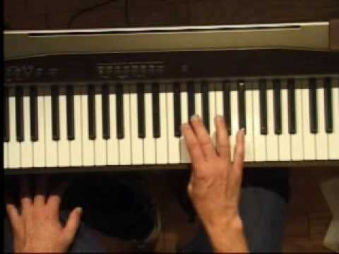 Piano Lesson - How to Play the E major scale (right hand)
