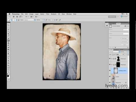 Adding photo edges and borders with PhotoFrame | lynda.com tutorial