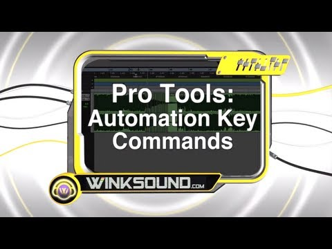 Pro Tools: Automation Key Commands