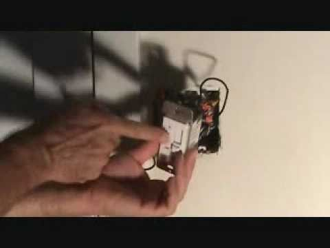 How to properly connect a ceiling fan wall switch