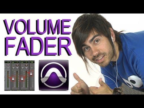 Volume Fader - Pro Tools 9
