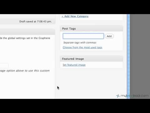 Learn Wordpress 5- Adding Content with Posts