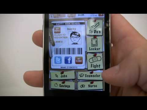 iPod / iPhone App Review - High School Super Star!