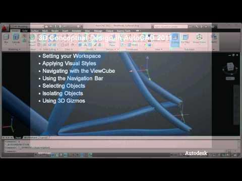3D Conceptual Design in AutoCAD 2011