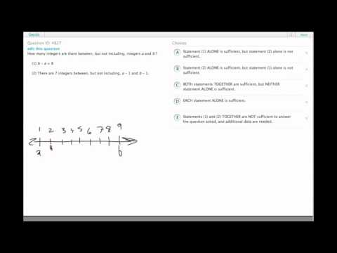 Grockit GMAT Quantitative - Data Sufficiency: Question 4827