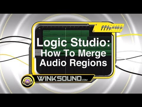Logic Studio: How To Merge Audio Regions