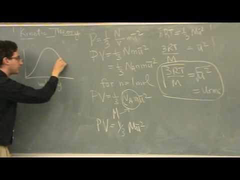 Kinetic Theory Derivation 2