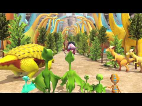Dinosaur Train | Dinosaur Big City -- coming August. 22 | Preview #2 | PBS KIDS