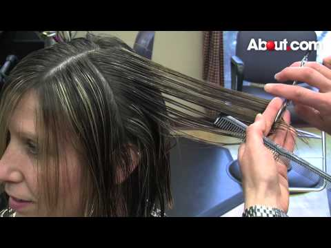 How to Do a Long Layered Stacked Bob