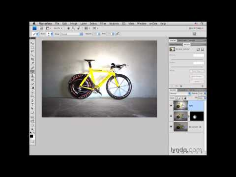 Photoshop: Road bike pt. 1: Adding light | lynda.com