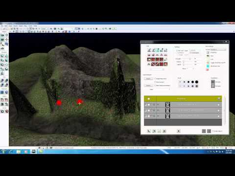 Unreal Development Kit UDK Tutorial - 39 - Other Terrain Settings