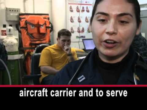 Women in the Navy: Aboard an Aircraft Carrier