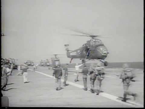 Marines In Action. Dominican Rescue, Vietnam Offensive 1965 Newsreel