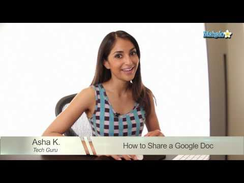 How to Share in Google Docs