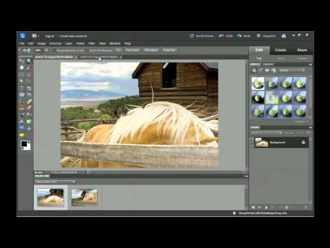 Photoshop Elements 10: The Full Edit workspace | lynda.com tutorial