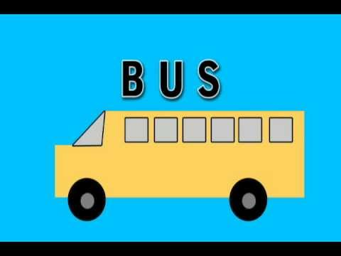 Vids4Kids.tv - Learn Shapes And Build A Bus
