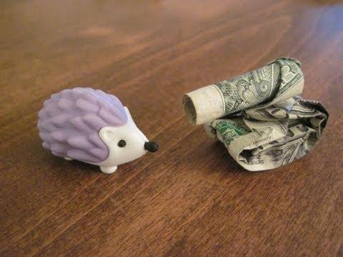 Dollar Origami Tank