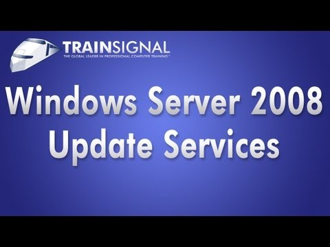 Windows Server 2008 - Windows Server Update Services