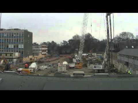 Construction progress, Mar 2011 - Darcy