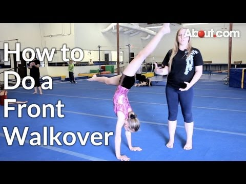 How to Do a Front Walkover Video - About.com