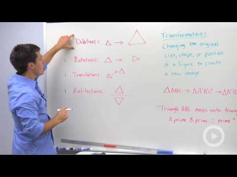 Geometry - Transformations and Isometries