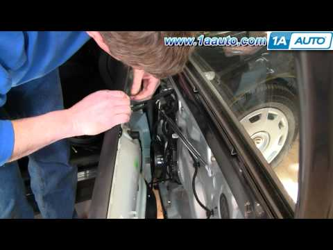 How To Install Replace Power Window Switch VW Passat 98-01 1AAuto.com